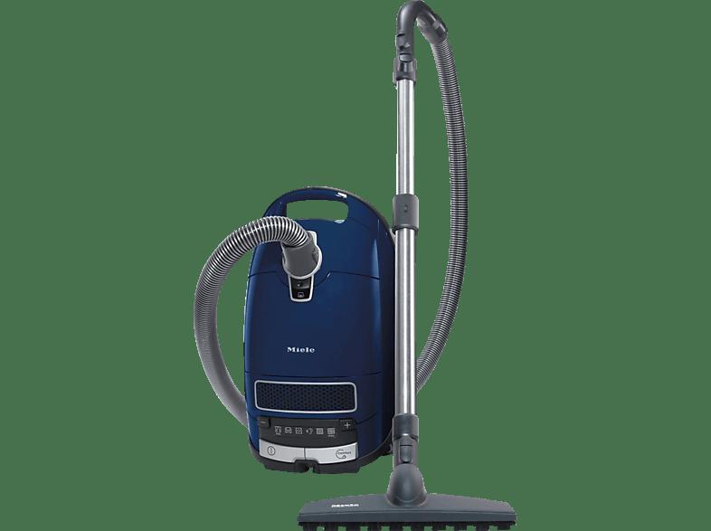 MIELE Complete C3 Parquet EcoLine (mit Beutel, AirClean Plus Filter, Motorschutzfilter, Marineblau)