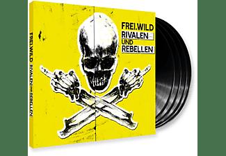 Frei.Wild - Rivalen und Rebellen (LTD. 4LP Gatefold + MP3 CD)  - (Vinyl)