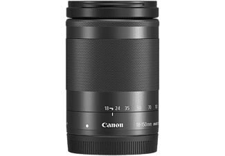 CANON EF-M 18-150 mm f/3.5-6.3 IS STM fekete objektív