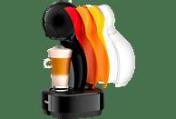 DELONGHI EDG 355.B1 Dolce Gusto Colors Kapselmaschine, Schwarz/Mehrfarbig