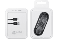 SAMSUNG USB Typ-C zu USB Typ-A, Datenkabel, 1.5 m, Schwarz