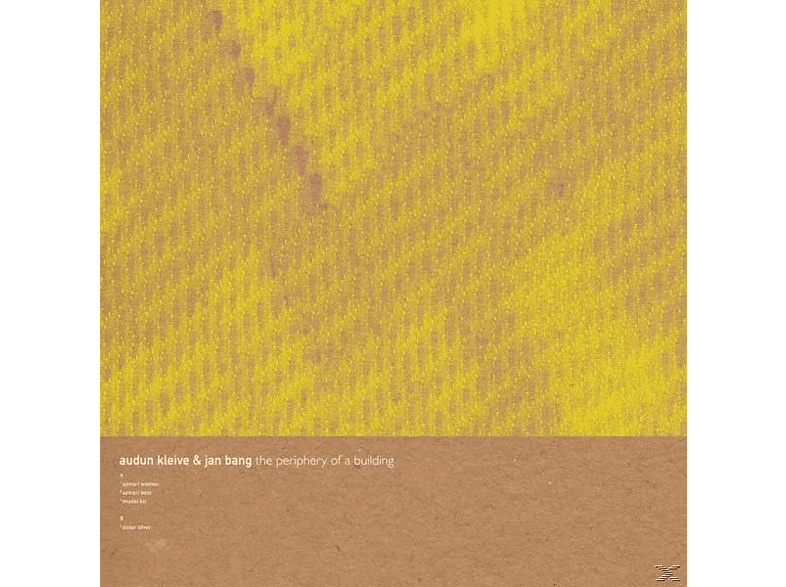 Jan Bang, Audun Kleive - The Periphery Of A Building [Vinyl]