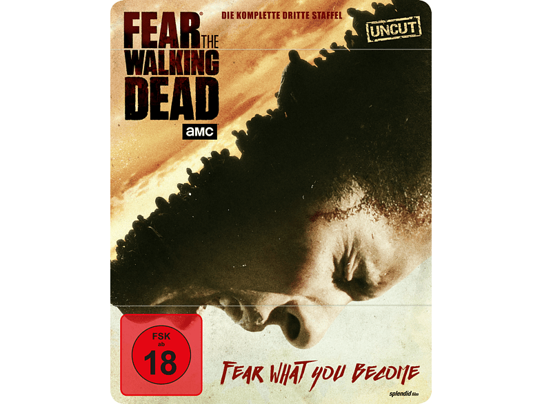 Fear the Walking Dead - Staffel 3 (Steelbook) [Blu-ray]