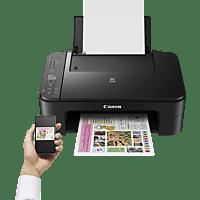 CANON PIXMA TS3150 2 FINE Druckköpfe mit Tinte 3-in-1 Tinten-Multifunktionsdrucker (Farbe) WLAN