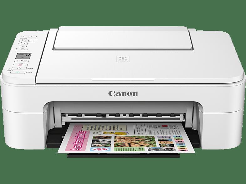 CANON PIXMA TS3151 2 FINE Druckköpfe mit Tinte 3-in-1 Tinten-Multifunktionsdrucker (Farbe) WLAN