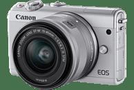 CANON EOS M100 Kit Systemkamera 24.2 Megapixel mit Objektiv 15-45 mm , 7.5 cm Display   Touchscreen, WLAN