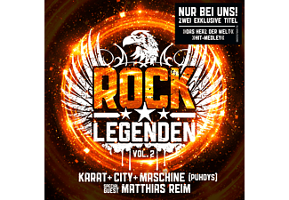 Karat, City, Maschine, Matthias Reim - Rock Legenden Vol. 2 (Exklusive Edition inkl. 2 Bonus Tracks) - (CD)