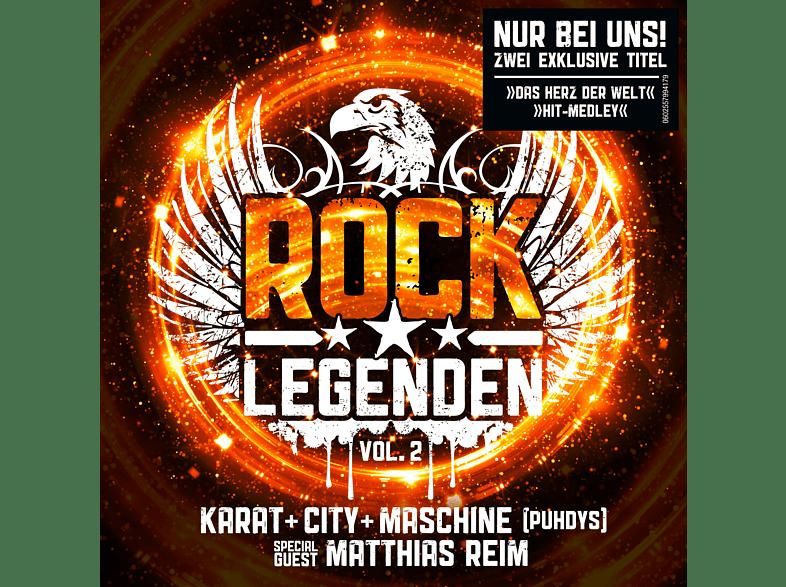 Karat, City, Maschine, Matthias Reim - Rock Legenden Vol. 2 (Exklusive Edition inkl. 2 Bonus Tracks) [CD]