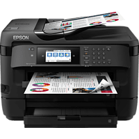 EPSON WorkForce WF-7720DTWF PrecisionCore™-Druckkopf 4-in-1 Multifunktionsdrucker WLAN Netzwerkfähig