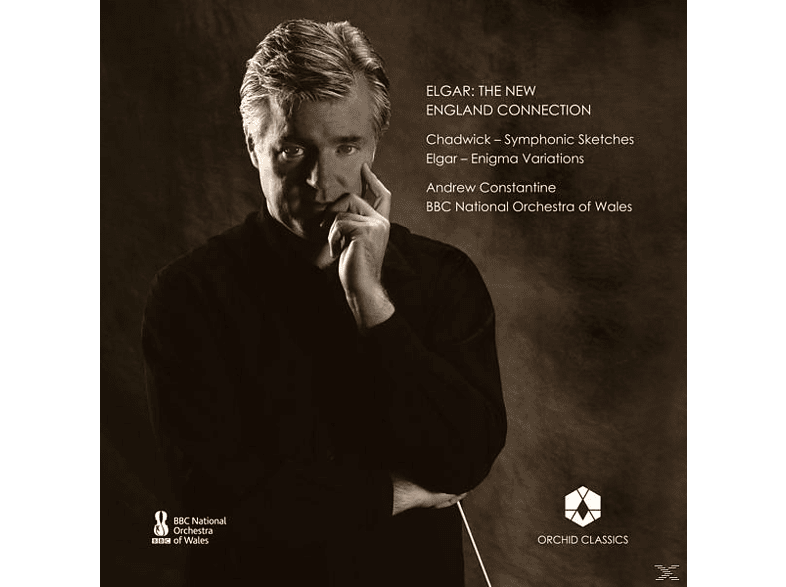 Andrew/BBC Nat.Orch.of Wales Constantine - The New England Connection [CD]