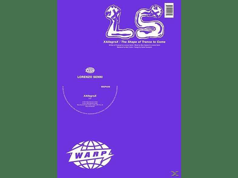 Lorenzo Senni - XAllegroX/The Shape Of Trance To Come (Ltd.12'') [Vinyl]