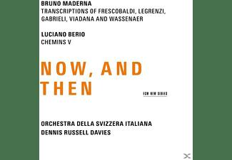 Bruno Maderna, Luciano Berio, Orchestra Della Svizzera Italiana - Now And Then  - (CD)