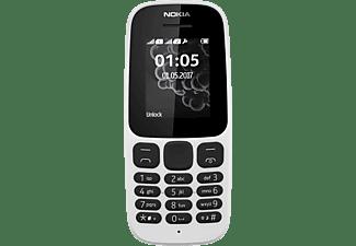 NOKIA 105 Dual SIM Handy, Weiß