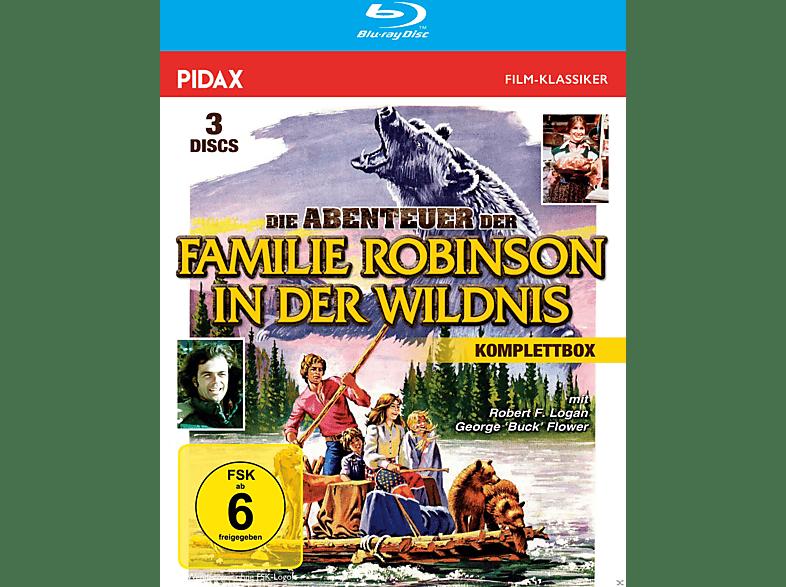 Die Abenteuer der Familie Robinson in der Wildnis [Blu-ray]