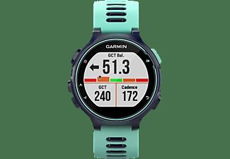 GARMIN Forerunner 735XT, GPS Multisport Uhr, 235 mm, Frost Blau