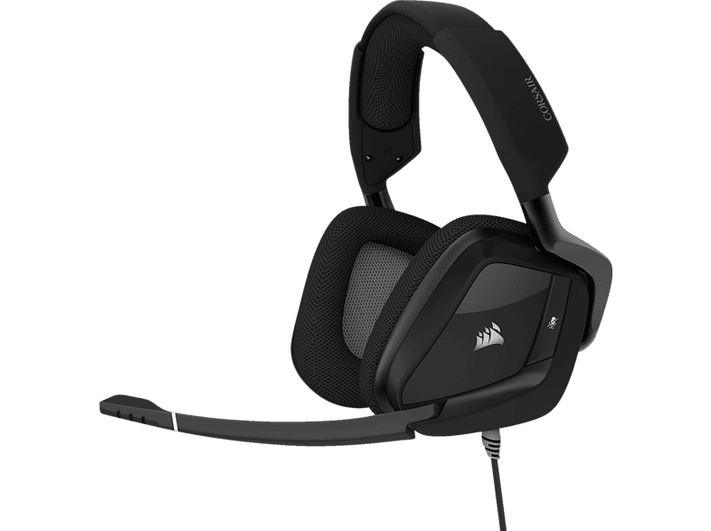 CORSAIR VOID PRO RGB USB Premium-Gaming-Headset mit Dolby® Headphone 7.1 Gaming Headset  Carbon