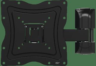 ISY IWB-3100 Wandhalterung, max. 48 Zoll, Schwenkbar, Neigbar, Schwarz