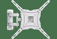 ISY IWB 3450 Wandhalterung, max. 65 Zoll, Schwenkbar, Neigbar, Ausziehbar, Weiß