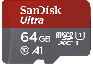 SANDISK Ultra Android MicroSDHC/SDXC 64 GB 100 MB/s Cl. 10