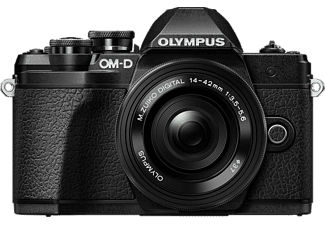 OLYMPUS OM-D E-M10III PancakeZoom Kit - Appareil photo à objectif interchangeable (Résolution photo effective: 16.1 MP) Noir