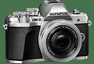 OLYMPUS OM-D E-M10 Mark III Kit Pancake Systemkamera 16.1 Megapixel mit Objektiv 14-42 mm , 7.6 cm Display   Touchscreen, WLAN