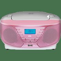 OK. ORC311 - PK Tragbarer Radiorecorder (Rosa)