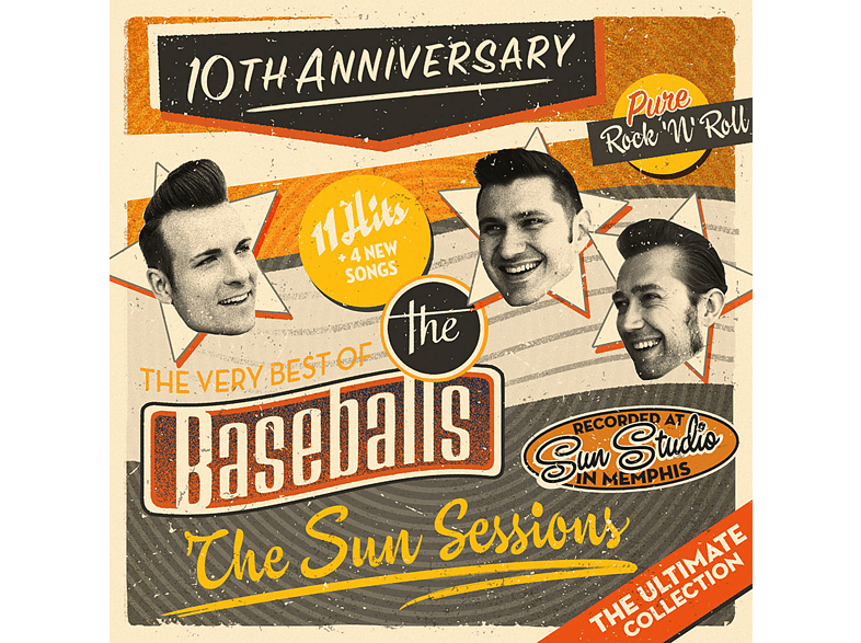 The Baseballs - The Sun Sessions [CD]