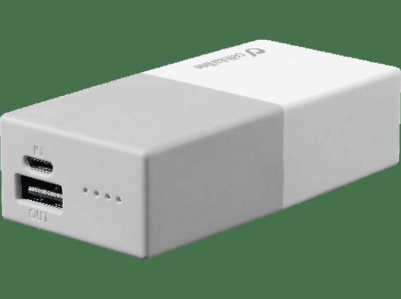 CELLULAR LINE Free Power Smart Powerbank 5.000mAh Weiss