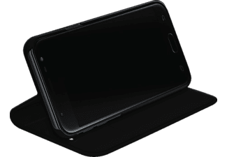 BLACK ROCK Booklet Material Pur, Bookcover, Samsung, Galaxy J3 (2017), Schwarz