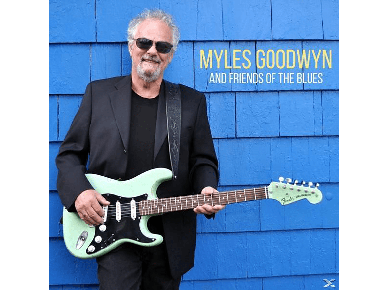 Myles Goodwin - Myles And Friends Of The Blues [CD]