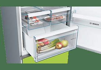 BOSCH KVN39IH4A Vario Style mit austauschbaren Farbfronten Kühlgefrierkombination (A+++, 182 kWh/Jahr, 2030 mm hoch, lime green)