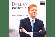 Christopher Devine - Debussy-Complete Music For Piano Solo [CD]