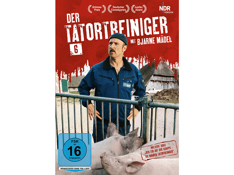 Der Tatortreiniger - Staffel 6 [DVD]