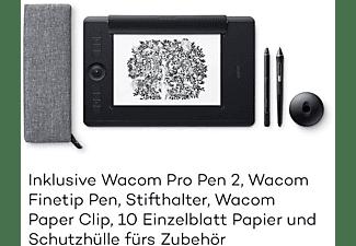 WACOM Intuos Pro Paper Edition large Grafiktablet, Schwarz