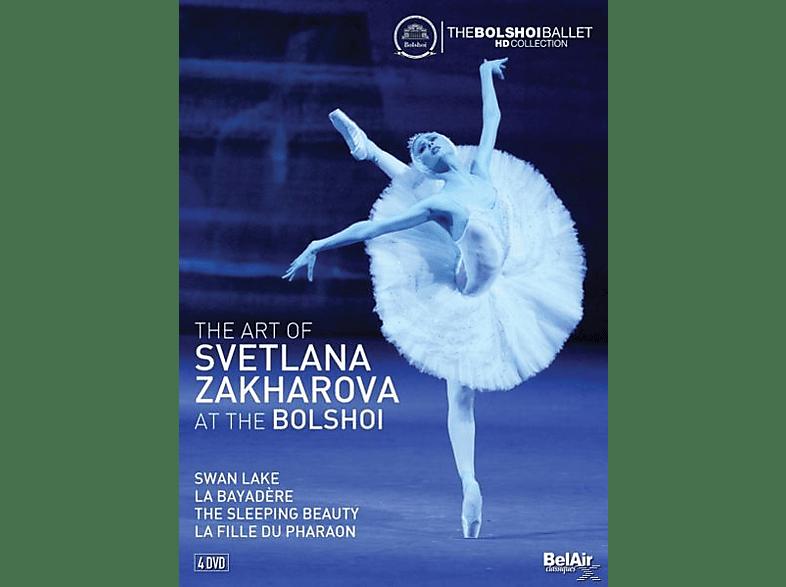 Zakharova Svetlana - The Art of Svetlana Zakharova at the Bolshoi [DVD]