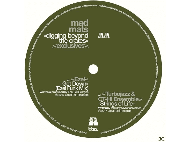 Mad Mats - Digging Beyond The Crates-Exclusives [EP (analog)]