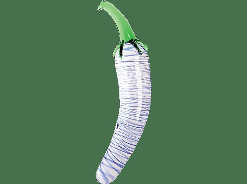 GLASSVIBRATIONS Fruit Line Blue Pepper Dildo