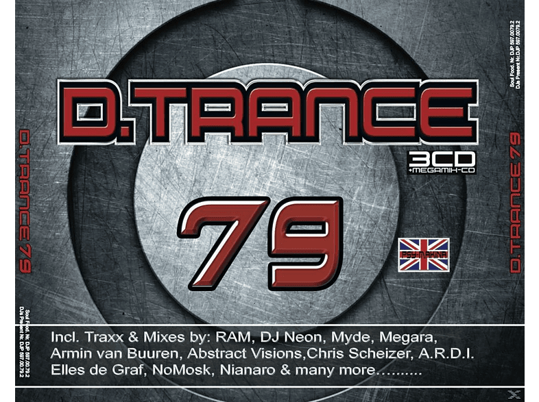VARIOUS - D.Trance 79-Tribute To Gary D. [CD]