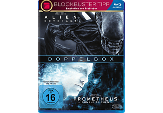 Alien: Prometheus & Covenant Blu-ray