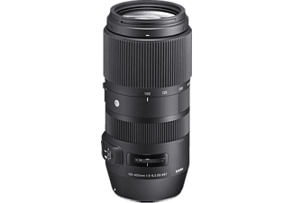 Objetivo - Sigma 100-400mm, 182.3 mm, f/5-6.3, DG, OS, HSM, MILC/SLR, para Nikon