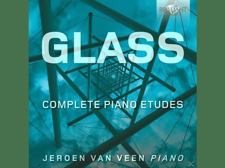 Jeroen Van Veen - Complete Piano Etudes [CD]