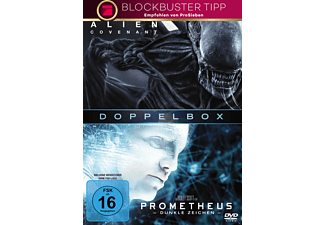 Alien: Prometheus & Covenant DVD