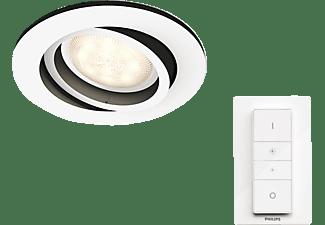 PHILIPS 5041131P7 Hue Milliskin LED Einbauspot Warmweiß, Neutralweiß, Kaltweiß