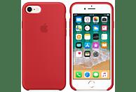APPLE Silikon Case , Backcover, Apple, iPhone 7, iPhone 8, Silikon, Rot