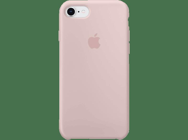 APPLE Silikon Case , Backcover, Apple, iPhone 7, iPhone 8, Silikon, Sandrosa
