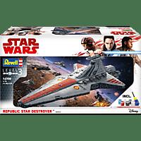 REVELL Republic Star Destroyer Modellbausatz, Mehrfarbig