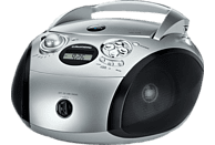 GRUNDIG GRB 2000 USB CD Radio (Silber/Schwarz)