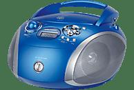 GRUNDIG GRB 2000 USB CD Radio (Blau/Silber)