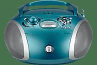 GRUNDIG GRB 2000 USB CD Radio (Aqua/Silber)