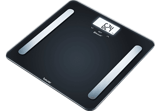 BEURER BF600 DIAGNOSE SCALE PURE BLACK - Pèse-personne (Noir)